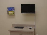 New Patient room